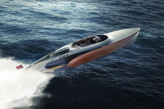 Rolls-Royce powered Aeroboat 1