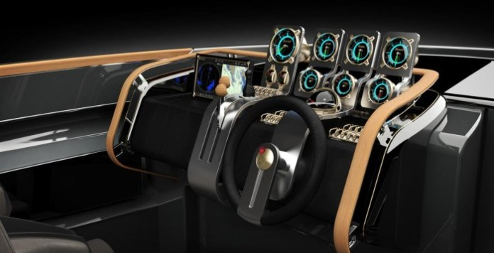 Rolls-Royce powered Aeroboat 2