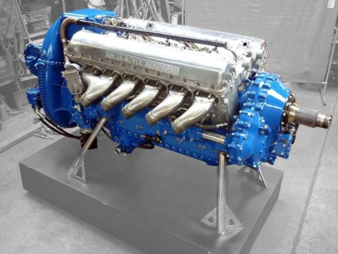 Rolls-Royce powered Aeroboat 3
