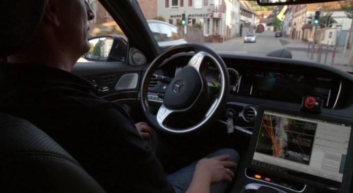 S500 Intelligent Drive Concept Car