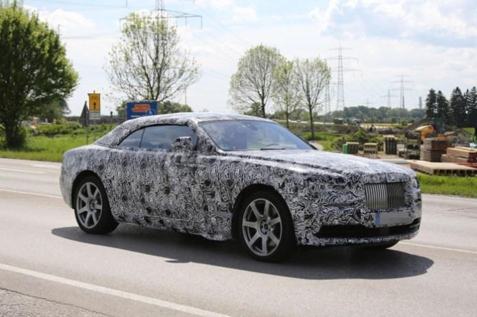 Spy Photos Rolls-Royce Wraith Drophead Coupe 2015 (1)