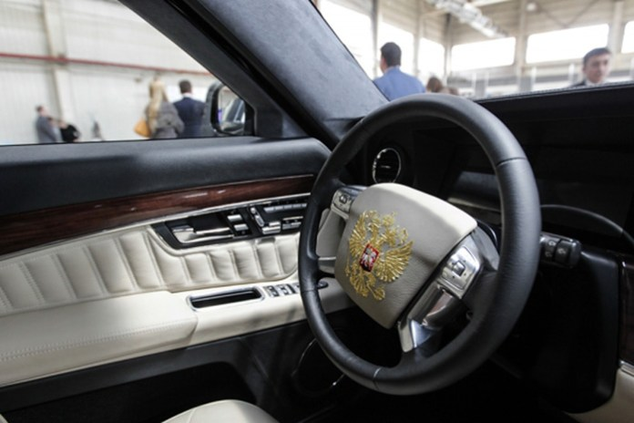 Vladimir Putin new limo 04