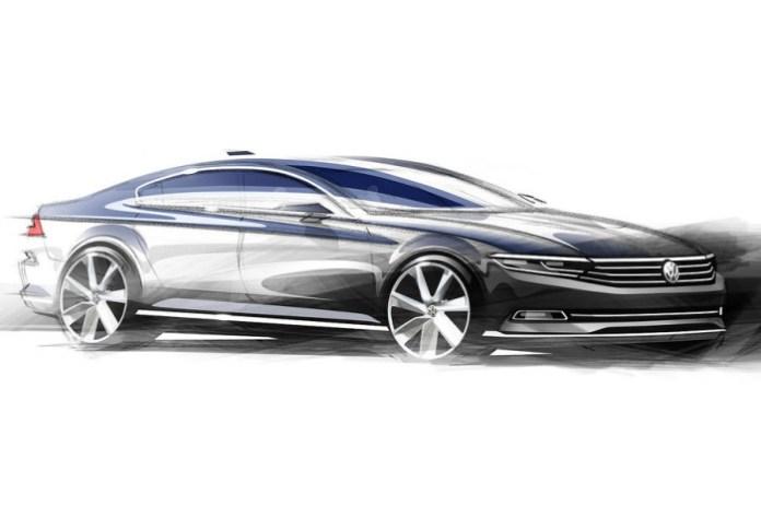 Volkswagen Passat sketches (2)