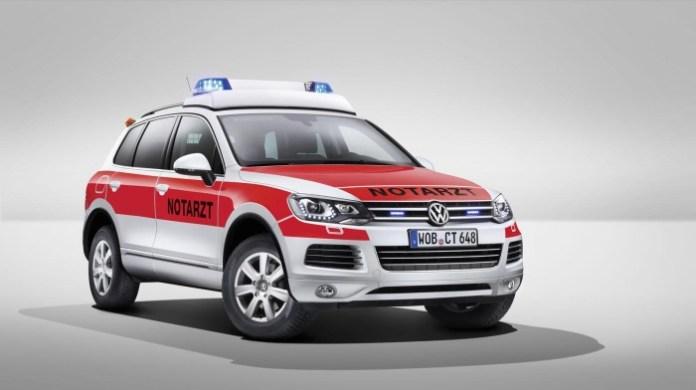 Volkswagen Touareg for RETTmobil 2014