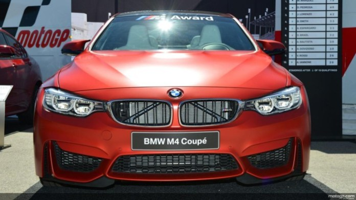 bmw m4 for motogp