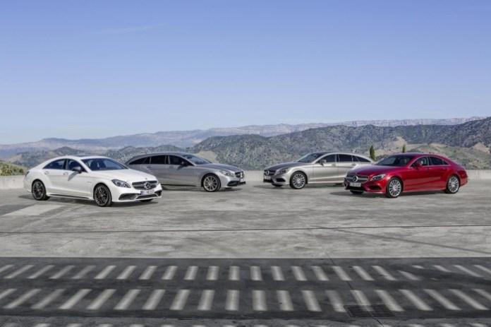 2015 Mercedes-Benz CLS facelift 1