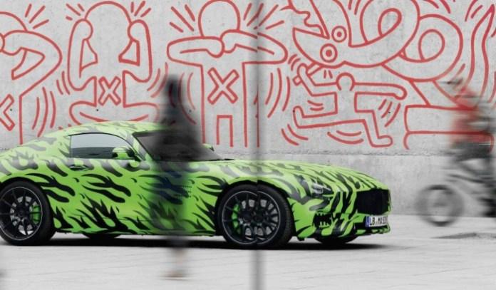 Mercedes AMG GT teaser image
