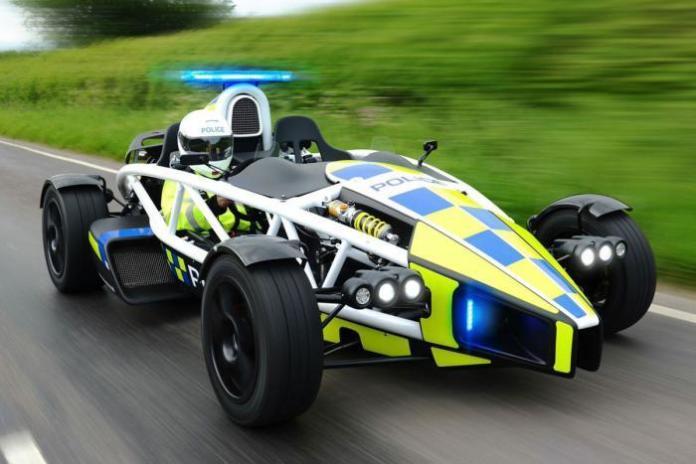 Ariel Atom Police car (2)