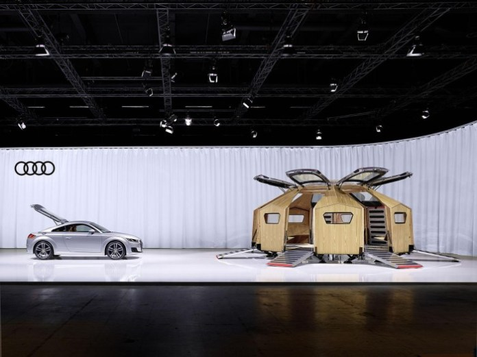 Audi TT Pavilion 1