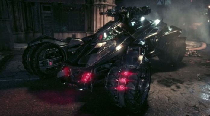 Batman Arkham Knight Batmobile Battlemode