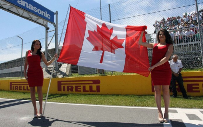 F1 Babes - Canada
