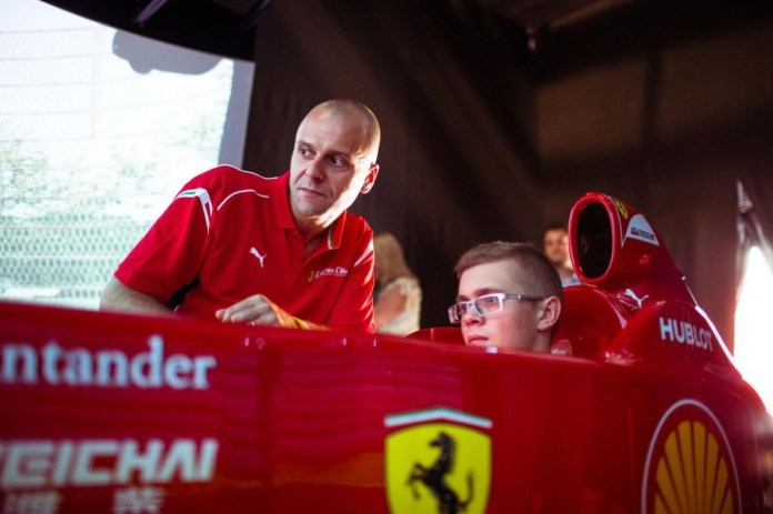 Ferrari 10th anniversary party in Russia 3