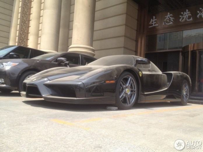 Ferrari Enzo Abandoned in China