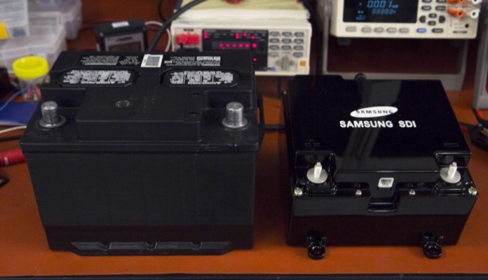 Ford & Samsung dual battery system 1
