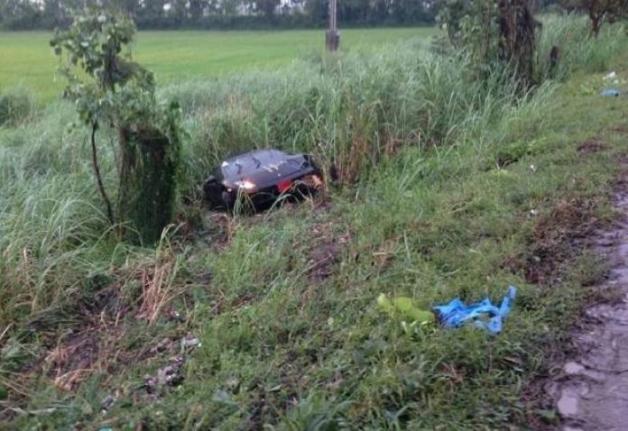 Lamborghini Gallardo crash in Thailand (1)