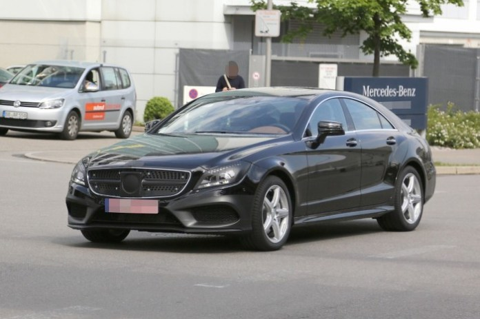 Mercedes CLS 2015 Spy Photos