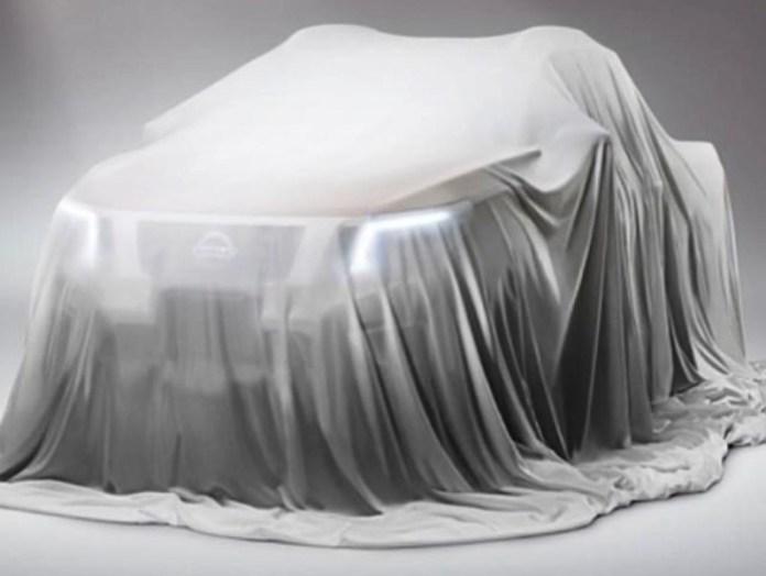 Nissan pickup teaser
