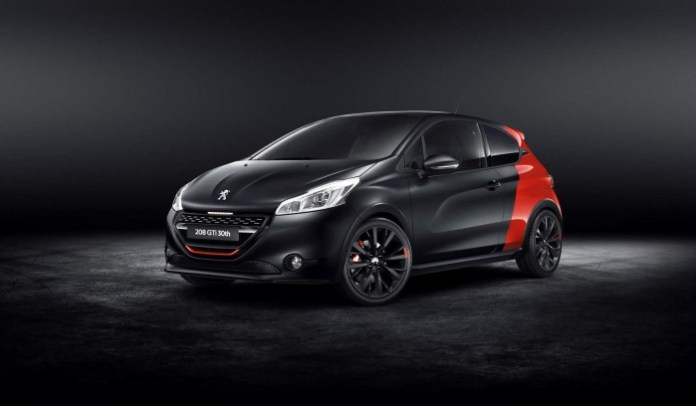 Peugeot 208 GTi 30th Anniversary special edition (1)