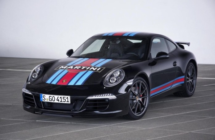 Porsche 911 S Martini Racing Edition (3)