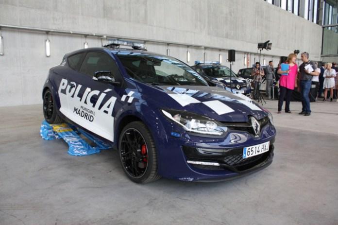 Renault Megane RS Police car