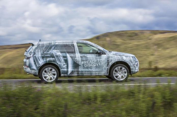 2015 Land Rover Discovery Sport teaser image (2)