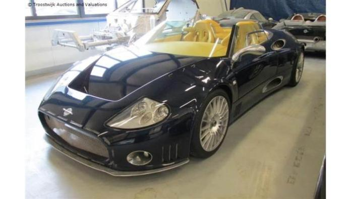 Spyker auction / Troostwijk Auctions