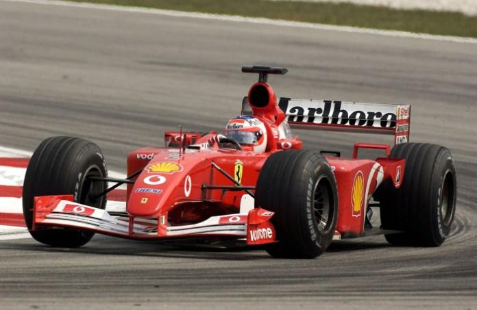 Ferrari F2001 Rubens Barrichello