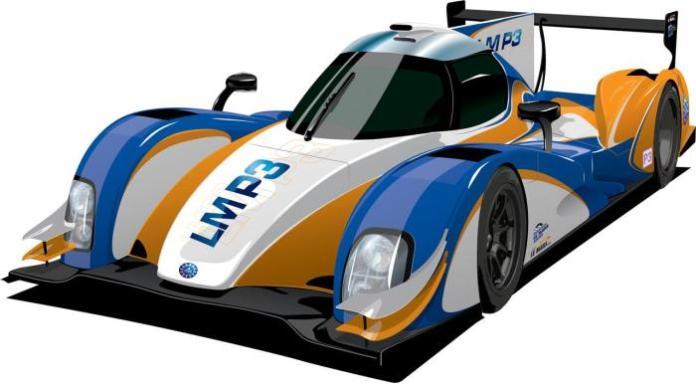 LMP3 car 1