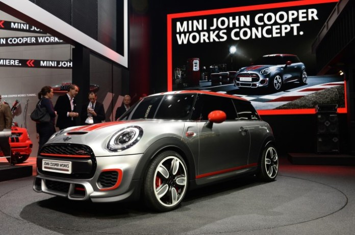 MINI John Cooper Works Concept live in Detroit 2014