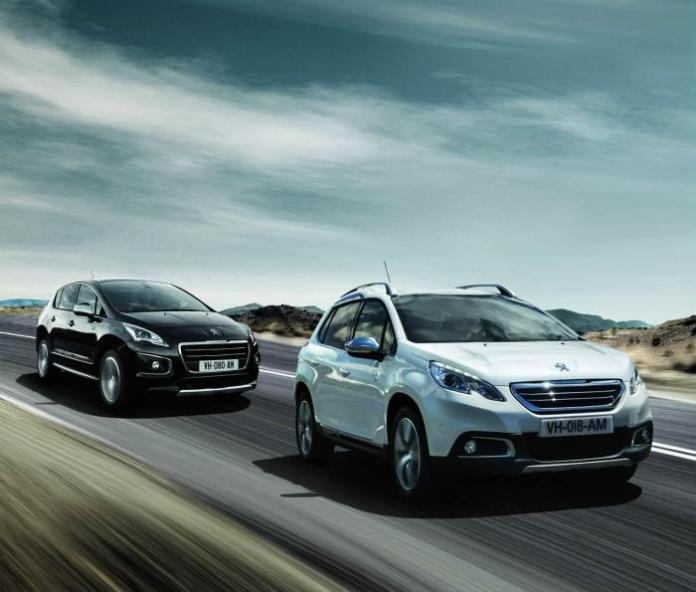 Peugeot 2008 and 3008 Crossway special editions (2)