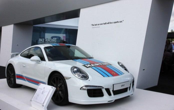 Porsche stand 2