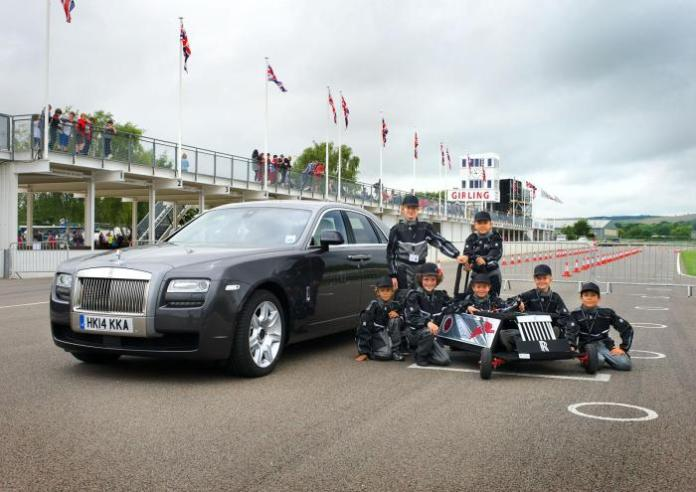 Rolls-Royce EV for the Greenpower IET Formula Goblin race (1)