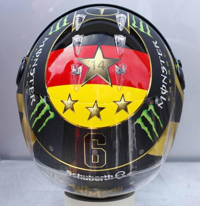 Rosberg German GP Helmet