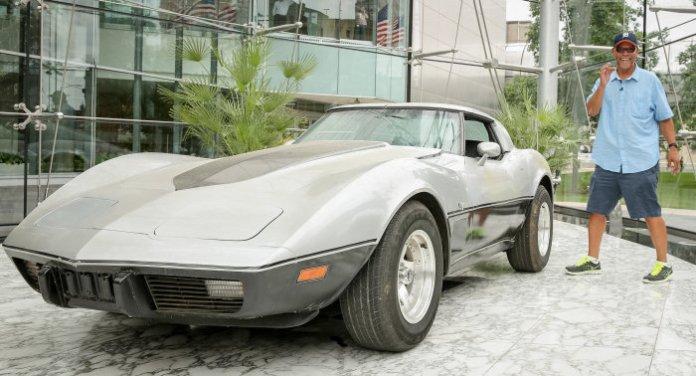 Stolen Corvette Returned 33 Years Later