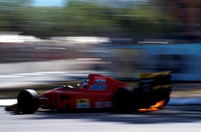 Η Ferrari παραμένοντας πιστή στους V12 κινητήρες, κατάφερε να φτιάξει το δεύτερο καλύτερο σύνολο της σεζόν. Το εξαιρετικό δίδυμο των Prost-Mansel προσέφερε πολλά highlights, παίρνοντας και 6 καρό σημαίες. Η κίνηση που έχει μείνει στην ιστορία, είναι το προσπέρασμα από την εξωτερική του Mansell στον Berger, στην ταχύτατη στροφή Peraltada στο Μεξικό, στον τελευταίο μάλιστα γύρο. σε έναν αγώνα που η Scuderia πανηγύρισε το 1-2.