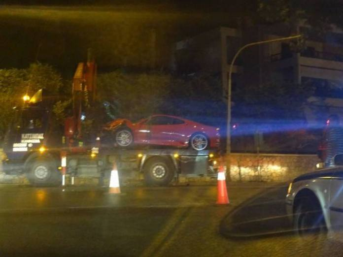 Ferrari 430 Crash