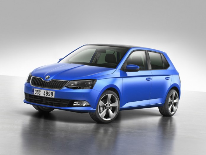 140819 The new SKODA Fabia_Front
