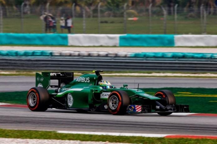 2014 Malaysian F1 GP - Ericsson - Caterham - CT05