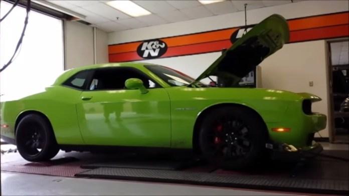 2015 Dodge Challenger SRT Hellcat dyno