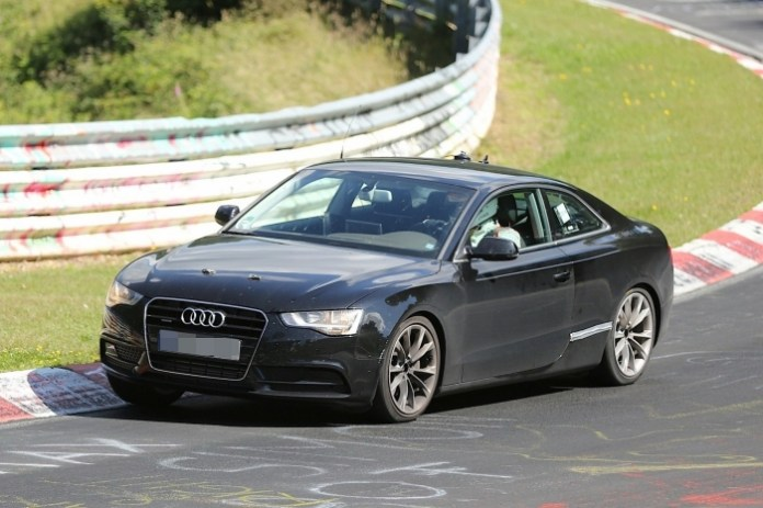 2016 Audi A5 chassis-mule (1)