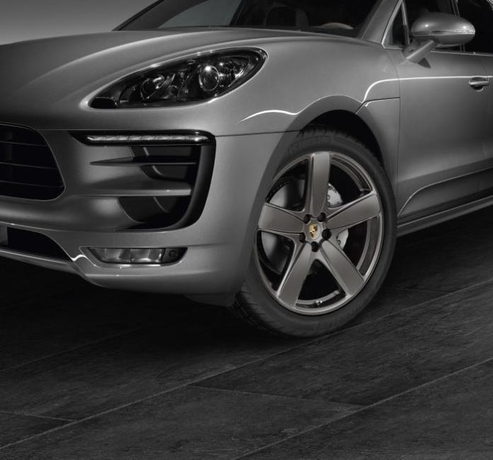 Porsche Macan with Sport Design package