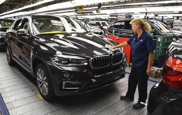 BMW X6 production