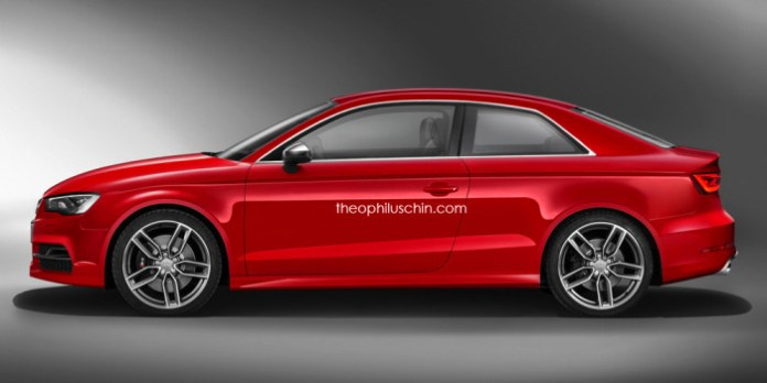 Audi S3 Coupe Rendering