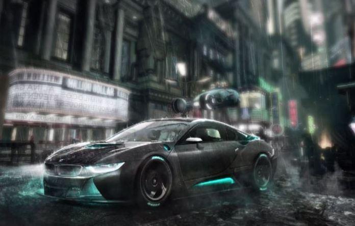 BMW i8 Blade Runner