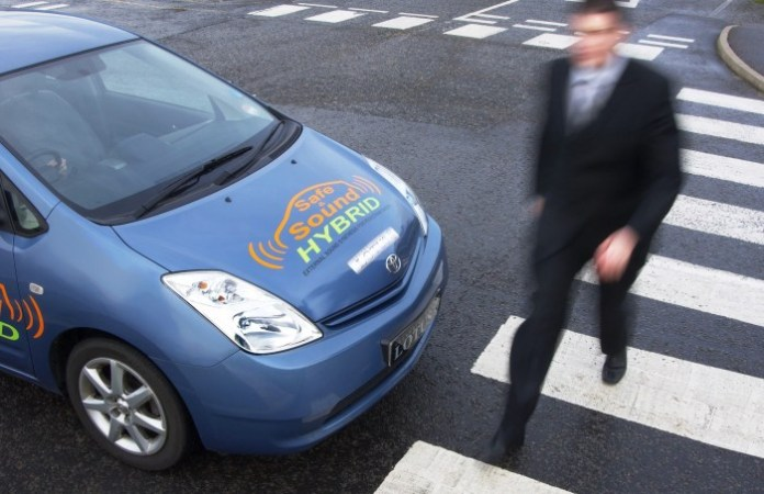 Electric vehicle warning sounds