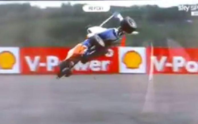 GP3 Crash