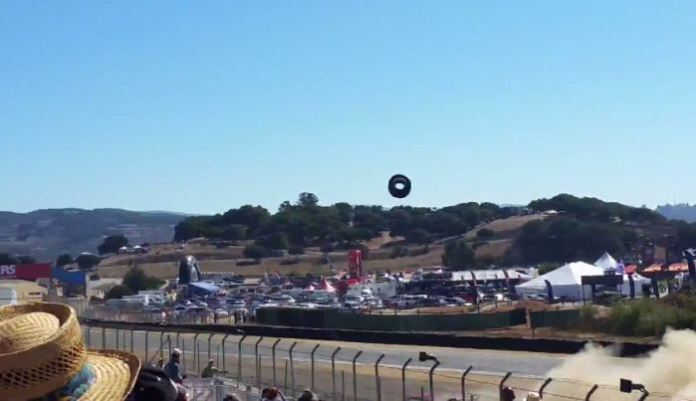 Laguna Seca Accident