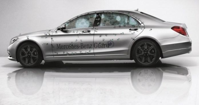 Mercedes-Benz S-Class Bulletproof
