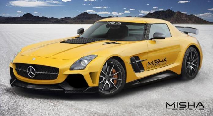 Mercedes-Benz SLS AMG by Misha Designs (1)