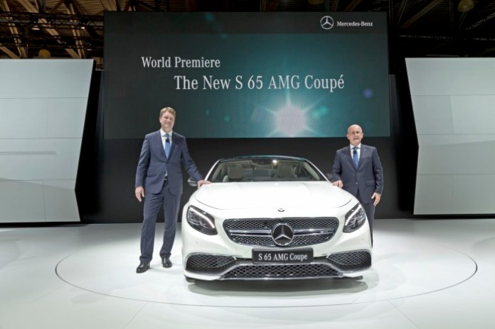 Mercedes-Benz at the Moscow International Auto Salon 2014